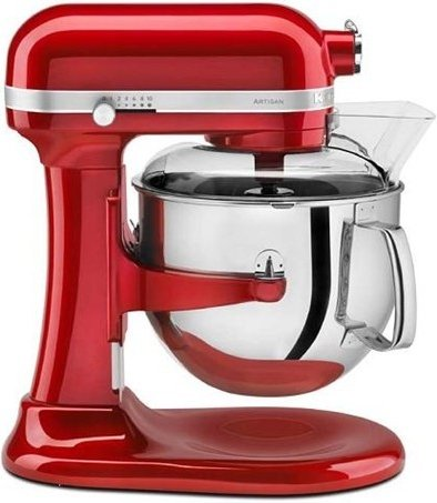 KITCHENAID ARTISAN 6,9L ROSSO IMPERIALE Robot da cucina impastatrice ...