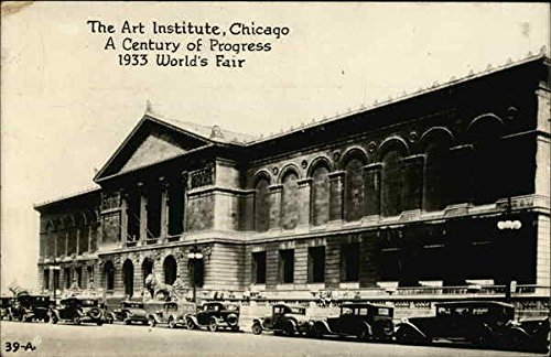 The Art Institute Chicago, Illinois Original Vintage Postcard