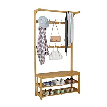 LYL Shoe Rack Estante para Zapatos, percheros Perchas Cambie ...