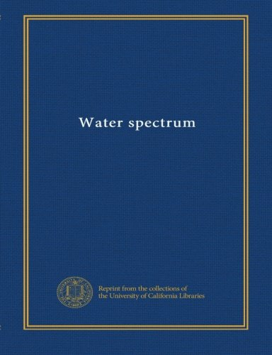 Water spectrum (v.15 no.1) pdf epub
