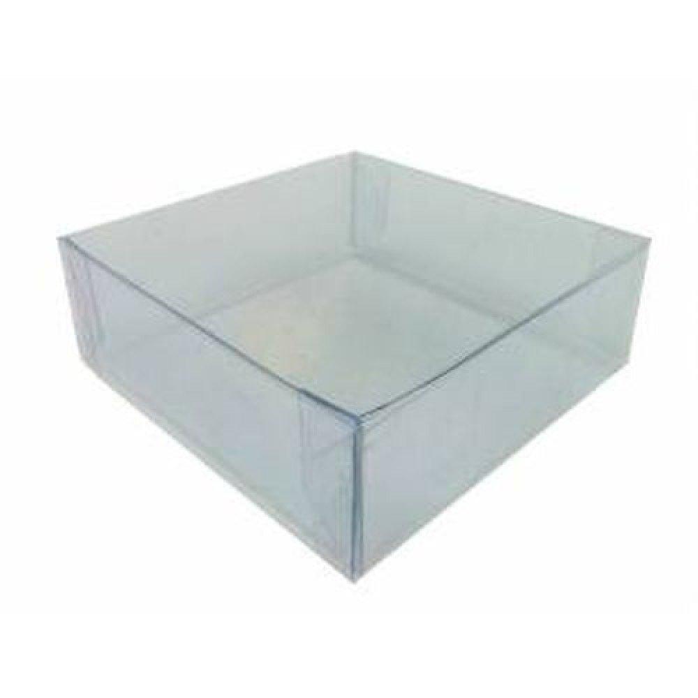 Acetat Schachteln Klar 8x8x3cm,5 Stk