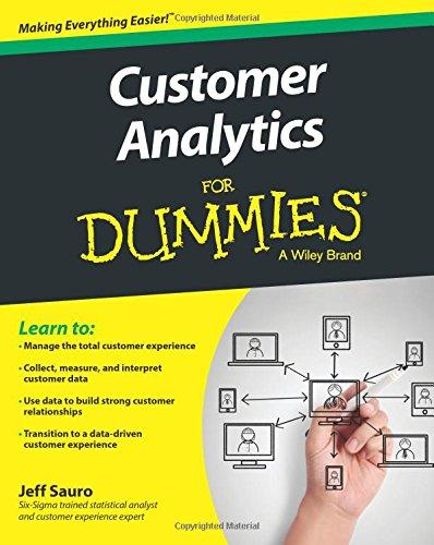 Customer Analytics Dummies Jeff Sauro product image
