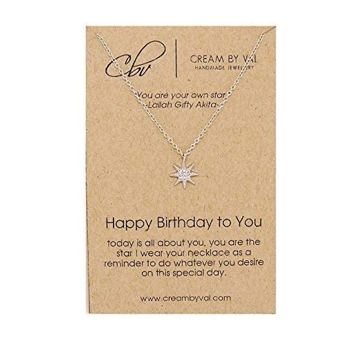 Happy Birthday To You Sterling Silver Necklace - 17'' Length