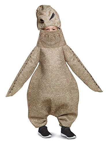 Disguise Oogie Boogie Classic Toddler Child Costume, Brown,