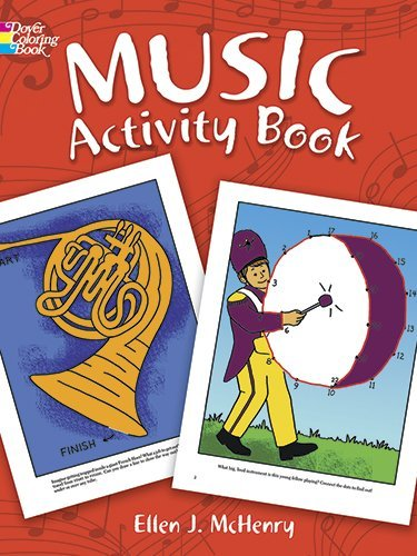Music Activity Book (Dover Coloring Books) by Ellen J. McHenry (1996-05-07)