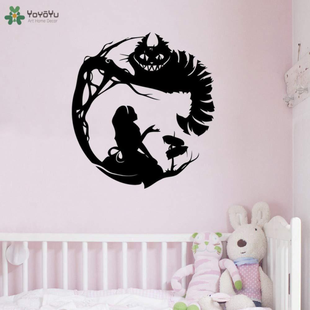 yaoxingfu Adhesivo de Pared Silueta Dormitorio Infantil Decoración ...