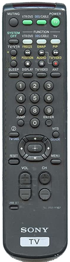 Sony RM-Y167 TV Remote Control Replacement