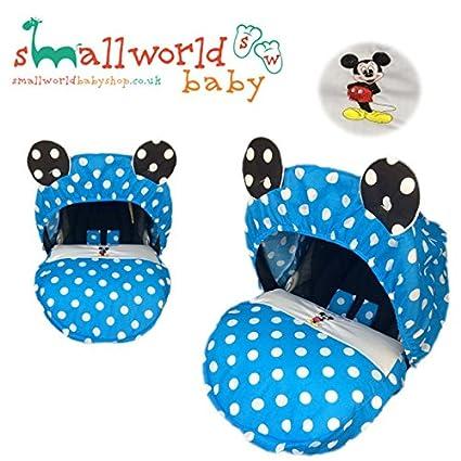 Funda personalizada para asiento de coche de bebé con diseño de ...