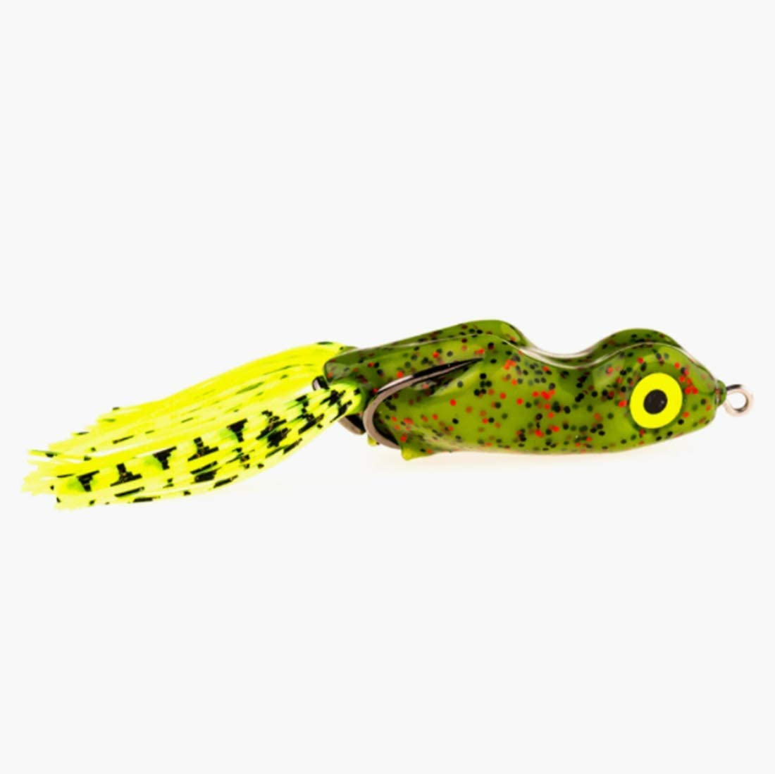 """Scum Frog 2 1//4/"""" Topwater Lure SF-112 in Natural Black//Green for Bass Pike"""