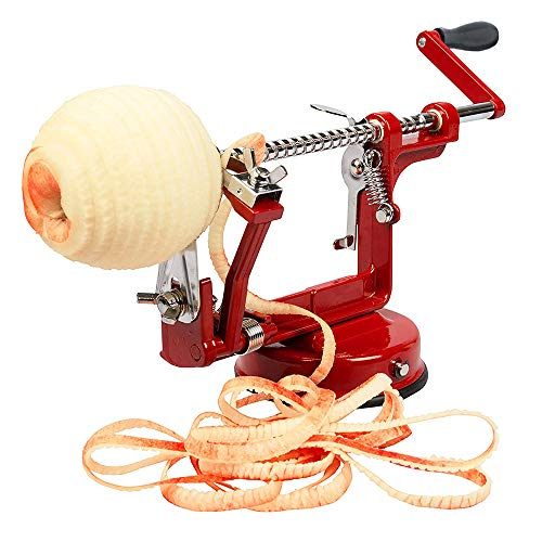 Aiky Apple Peeler Slicer and Corer Suction Base for Pear