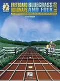 Fretboard Roadmaps-Bluegrass and Folk Guitar, Fred Sokolow, 063400140X