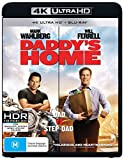 DVD : Daddy's Home 4K UHD Blu-ray / Blu-ray | Mark Wahlberg, Will Ferrell | NON-USA Format | Region B Import - Australia