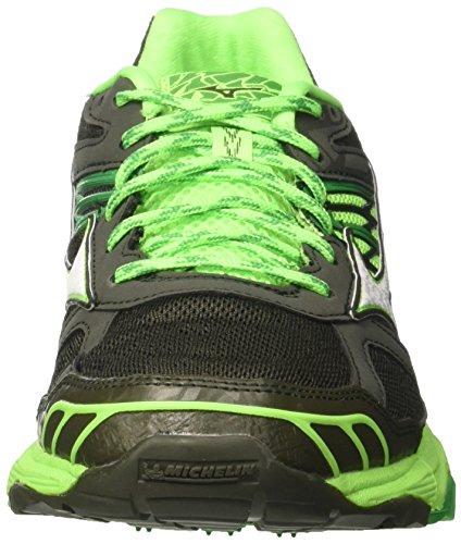 Mizuno Wave Mujin 4, Scarpe da Running Uomo Verde (Forestnight/White/Brightgreen)
