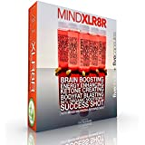 MINDXLR8R Natural Nootropic Energy Drink Concentrate and Bonus NOONRG Capsules. The Most Effective, Instantly Effective Stack Available. Sip or Dilute for All Day Brain Energy. 5 Bottles + 5 Capsules