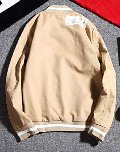 Jacket Khaki Bomber Fit Men's Lightweight Coats security Softshell Flight Slim P0wzUq4