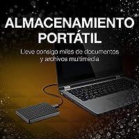 Seagate Expansion STEA3000400 - Disco duro externo portátil para PC, Xbox One y PlayStation 4 (3TB, USB 3.0) , Negro: Seagate: Amazon.es: Informática