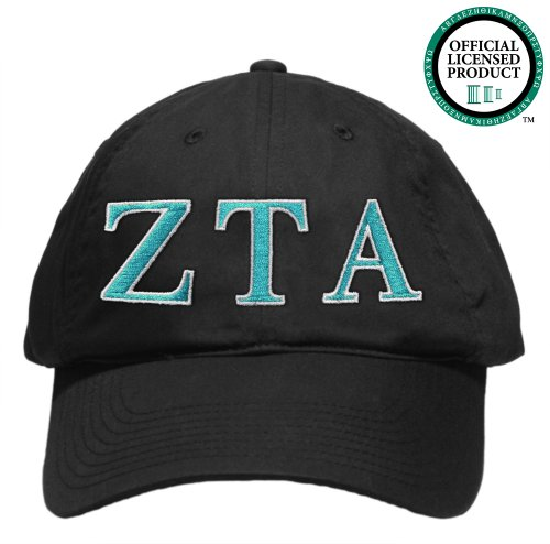 Zeta Tau Alpha (ZTA) Embroidered Nike Golf Hat, Various Colors