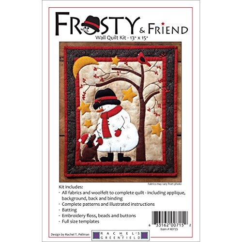 Frosty & Friend Wall Quilt Kit-13x15 (Friends Quilt Kit)