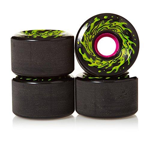 医薬時期尚早異常なSanta Cruz Old Scoolスケートボードog Slime re-issueホイール60 mm 78 aブラック