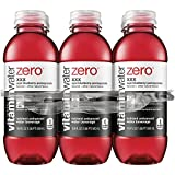 vitaminwater zero XXX bottles, 16.9 fl oz (Pack of 6)