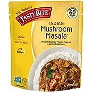 Tasty Bite Indian Entrée, Mushroom Masala, 10 Ounce