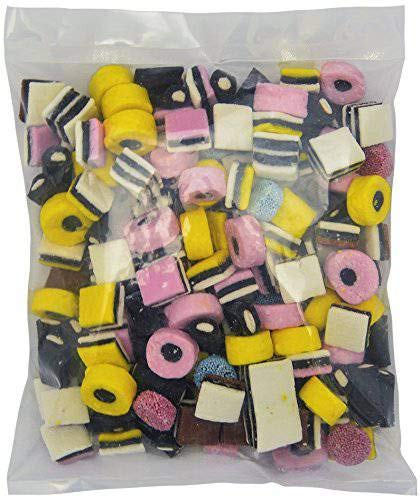 - Gustaf's English Licorice Allsorts - 2.5 LB