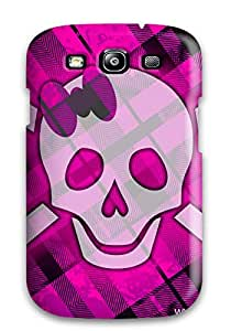 ZVDapCC6898CkYpS Funky Pink Skull Awesome High Quality Galaxy S3 Case Skin