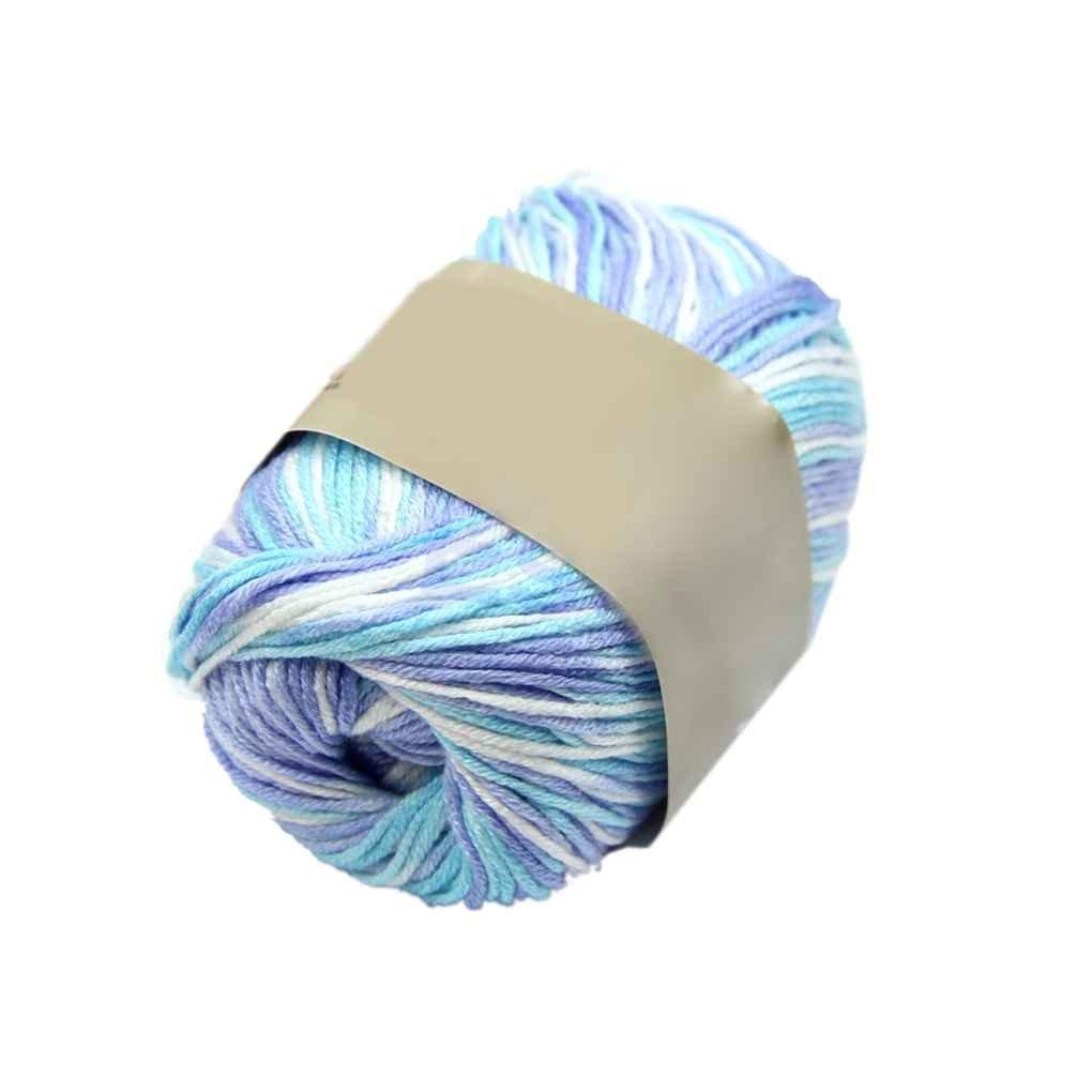 50g Garn Cashmere Wool Silk Protein Stricken Strickwolle Stricken Häkeln Basteln