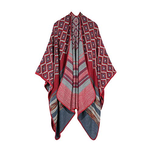 Womens Winter Cardigans Big Sale! Jiayit Bohemia Cashmere Ponchos Shawl Sweater Coat ()