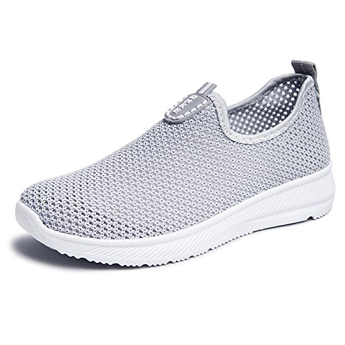 edv0d2v266 Women Quick Drying Aqua Water Shoes Slip-On Athletic Sport Men Sneakers Running Sports Shoes(Red 40/9.5 B(M) US Women) by edv0d2v266