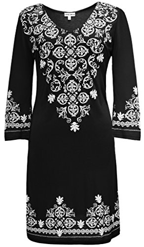 Peauty Women's Swimsuit Cover Up Summer Dresses Resort Wear Black USA M