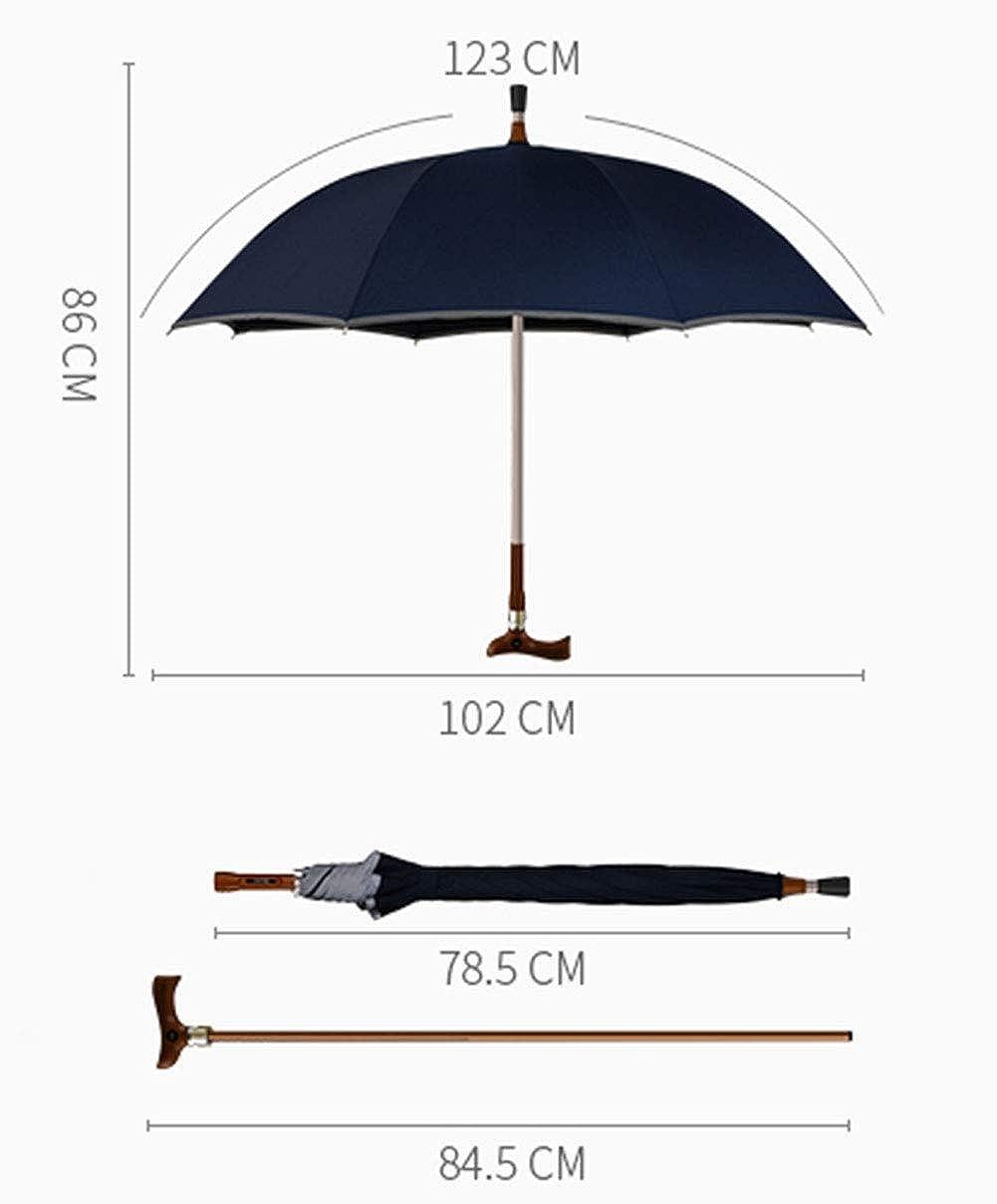 Ombrello Super-grande Super Resistente Al Vento,staccabile,vecchio Uomo Ombrello Ombrello Creativo A Impugnatura Lunga Autodifesa