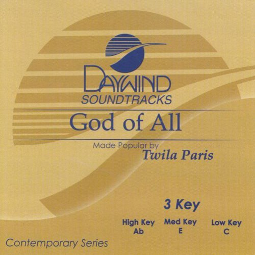 God Of All [Accompaniment/Performance Track] by Made Popular By: Twila Paris