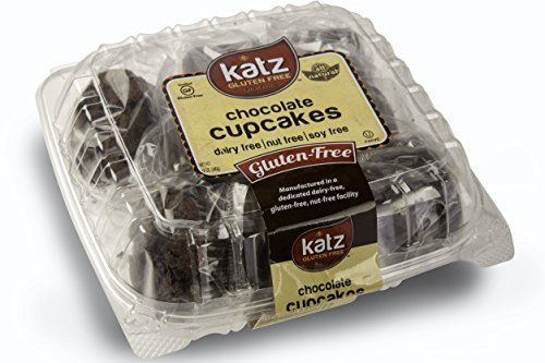(Katz Gluten Free Individually Wrapped GRAB 'N' GO Chocolate Cupcakes, 12 Ounce, Certified Gluten Free - Kosher - Dairy Free & Nut free (Pack of 1))