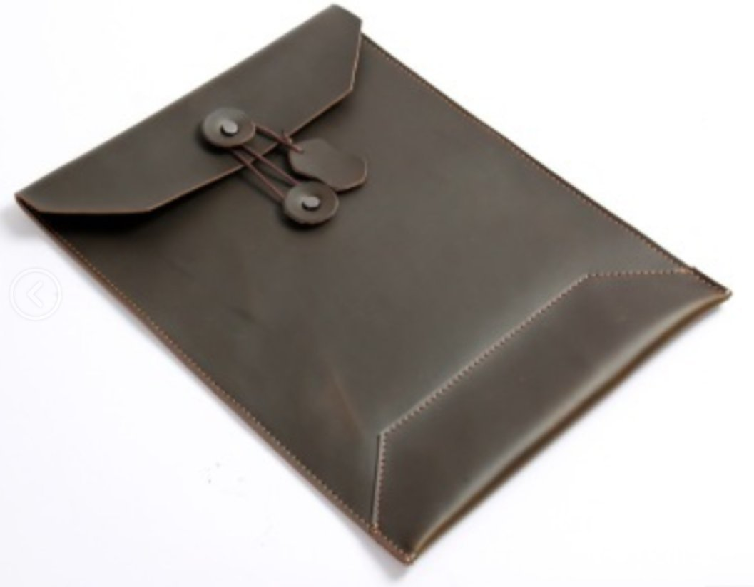 ファイルフォルダポケットメッセンジャーバッグケースブリーフケース牛革カスタマイズブラウンz629   B07CXZSF57