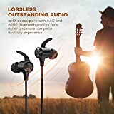 Wireless Headphones, TaoTronics Lightweight Sports Bluetooth 4.1 In Ear Earbuds with IPX5 Sweatproof for Running, Magnetic Earphones with aptX Lossless Stereo (Noise Cancelling Mic, 8 Hours Playtime)