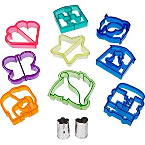 Amazon Com Fun Sandwich And Bread Cutter Shapes For Kids
