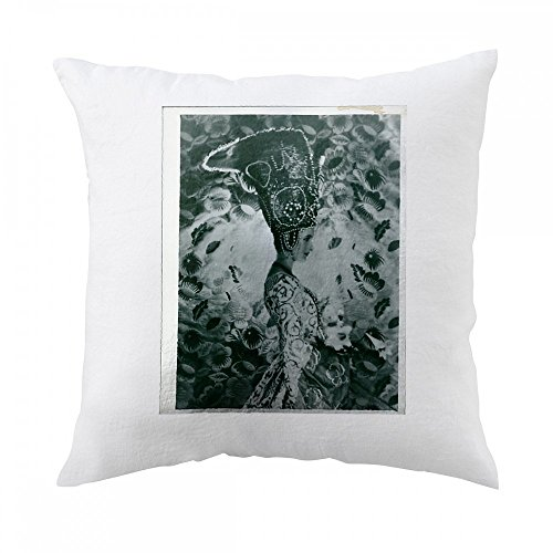 Cecil Beaton Costume Design (Picture of Cecil Beatons sister wearing a costume from Theatre. Picture taken of photographer Cecil Beaton Pillow Cover)