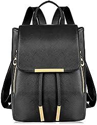 Vbiger Leather Backpack Shoulder Handbag Stylish Lovely for Women