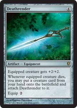 Magic: the Gathering - Deathrender (197/210) - Conspiracy