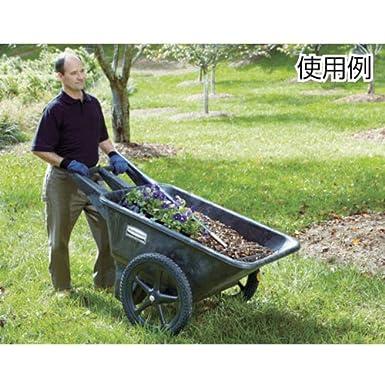 Feet Capacity 300 lb Black 7.5 cu FG564000BLA Rubbermaid Commercial Standard Low Wheel Cart