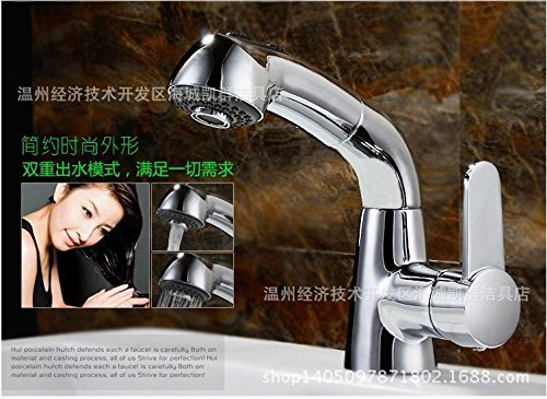 Do Not Bring Water Pipes Hlluya Professional Sink Mixer Tap Kitchen Faucet Cold Water TAP-TAP-TAP and cold water springs faucet kitchen faucet vanity area with hand basins, into the water pipes