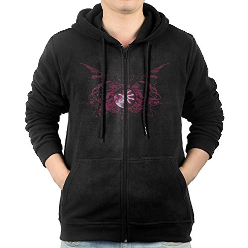 352ad88f0fef Men Online Games WOW Warlock Logo Hoodie Pullover Zip Up at Amazon Men s  Clothing store