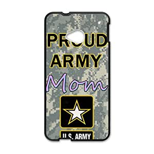 Happy US Proud army mon Cell Phone Case for HTC One M7