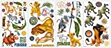 lovely lion wall decals RoomMates The Lion King Peel and Stick Wall Decals