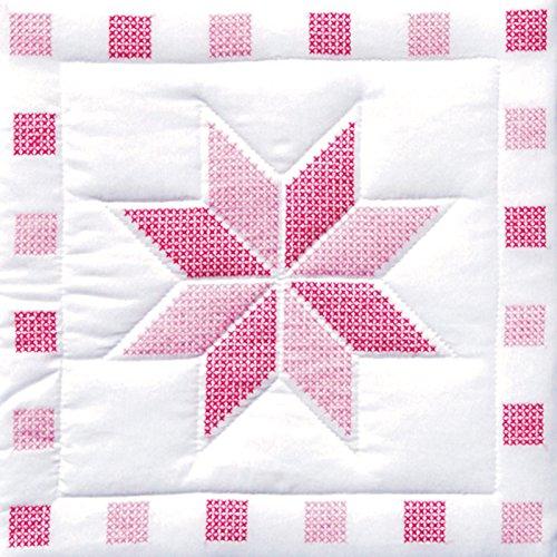 Jack Dempsey Needle Art 732315 XX Star 6-Quilt Block, 18-...