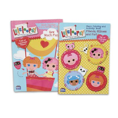Amazon.com: 2 Piece 96pg Lalaloopsy Coloring Book - Assorted ...