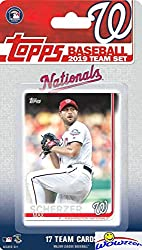 Wowzzer! We are Proud to offer this Washington Nationals 2019 Topps MLB Baseball Factory Sealed EXCLUSIVE Special Limited Edition 17 Card Complete Team Set! This Factory Sealed Team Set Includes Max Scherzer, Juan Soto, Stephen Strasburg, Ryan Zimmer...