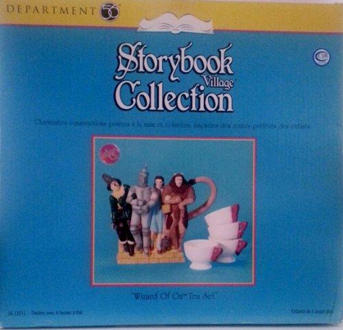 Department 56 Storybook Village Collection - Wizard of Oz Tea Set