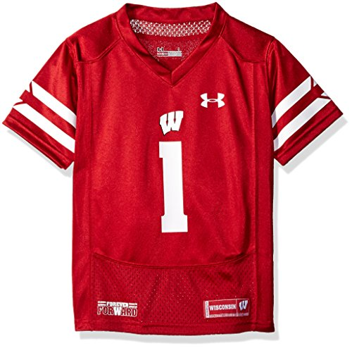 NCAA Wisconsin Badgers Boys Replica Jersey, Size 6, Flawless